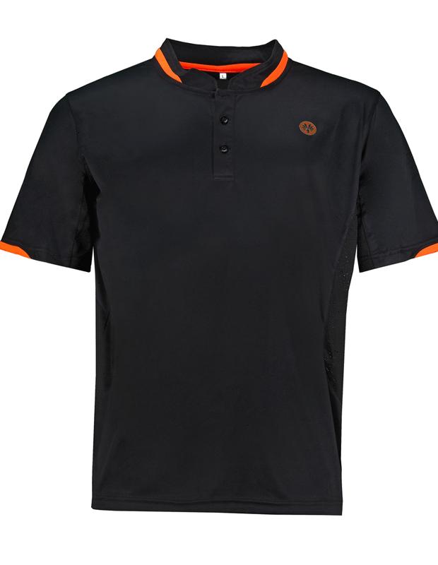 Womens Black badminton squash shirts