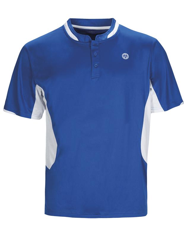 Mens Blue badminton squash shirts