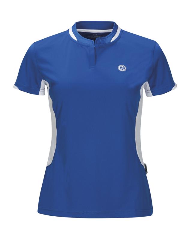 Womens Blue badminton squash shirts